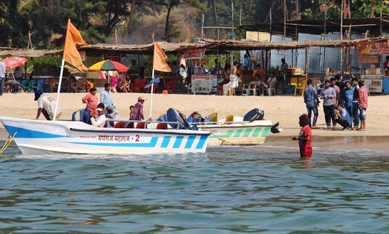 Experience Ganpati Pule, India On 8 Person Dinghy Charter Tour