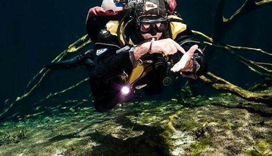 Diving In Tulum, Mexico