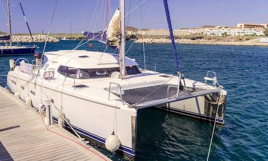 Nautitech 44 Catamaran Charter In Amarilla Golf