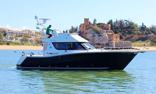 Charter 41' Rodman Fisher & Cruiser Motor Yacht In Portimão, Portugal