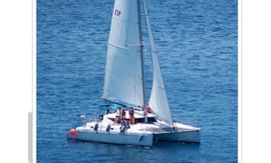 Luxury Sailing Catamaran Charter In Jable, Spain