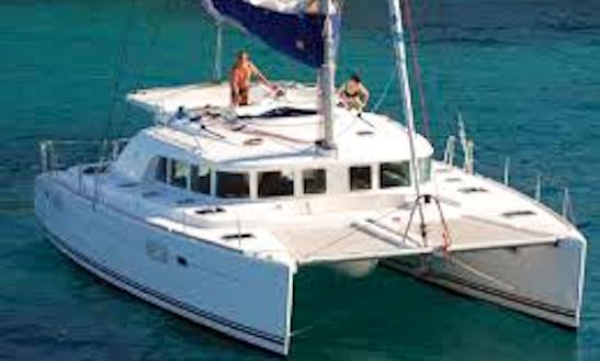 45' Lagoon 440 Cruising Catamaran Rental In Sant Antoni De Portmany, Soain
