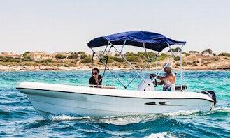 "Rent 16ft ""Andromeda"" Deck Boat In Portocolom, Spain"