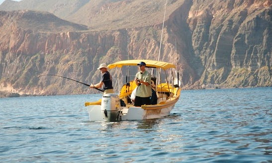 Go Fishing In Baja California Sur, Mexico On A Center Console Charter For 3 People