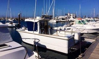 Antares 700 peche fishing charter in Corralejo