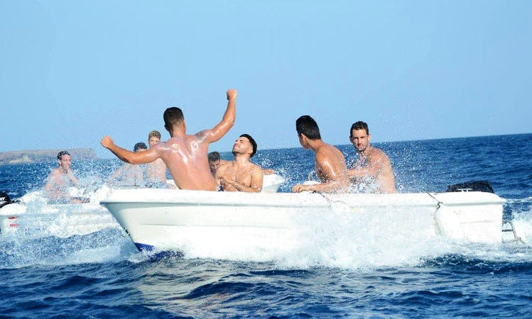Center Console Charter in Playa Blanca, Spain