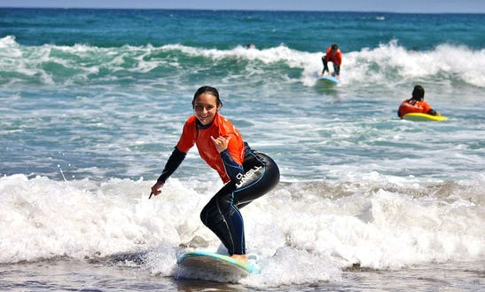 Surf Lessons In Tinajo