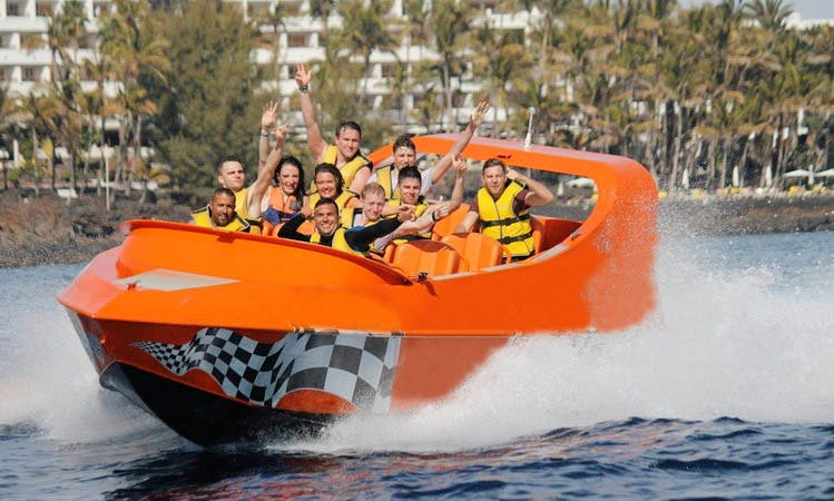 Jetboat Rides in Playa Chica, Puerto del Carmen