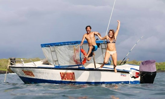 Enjoy Fishing In Puerto Ayora, Ecuador On Cuddy Cabin
