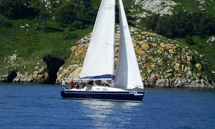 Elan 37 for Charter in Vigo Spain