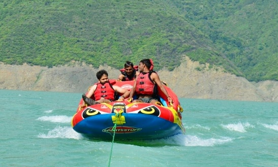 Enjoy Tubing In Tehri, India