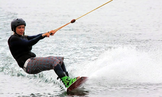 Enjoy Wakeboarding In Candolim, Goa