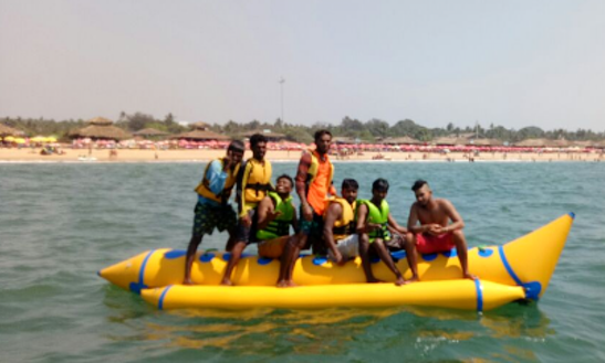 Enjoy Banana Boat Rides In Candolim, Goa