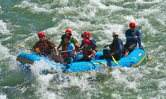 Enjoy Rafting In Tehri, Uttarakhand