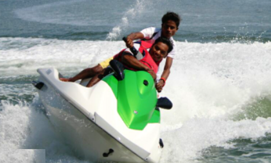 Experience Jetskiing Through The Waterways Of Maharashtra, India