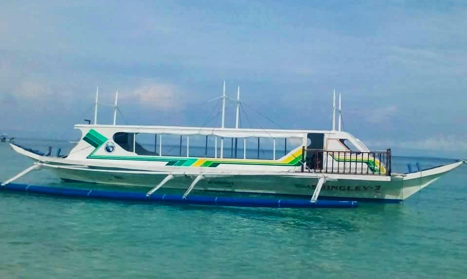 Traditional Boat Rental in Malay, Philippines for up to 30 person