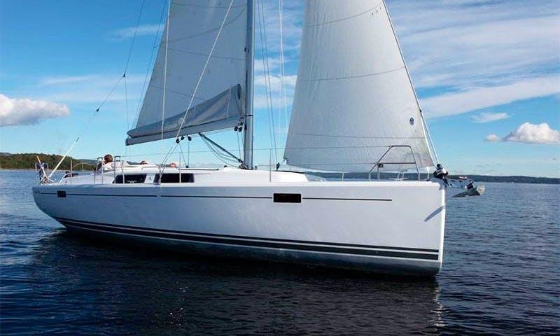 Hanse 385 Sailing Yacht Rental in Vila Franca Do Campo