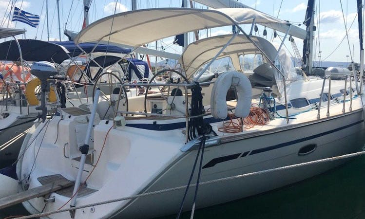 "Sailing Charter On 46ft ""Hermes"" Bavaria Cruiser Sailing Yacht In Alimos, Greece"