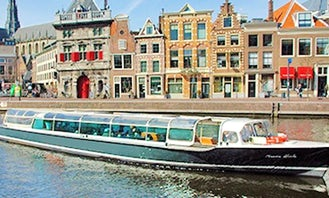 River Cruises in Haarlem, Netherlands on a Canal Boat!