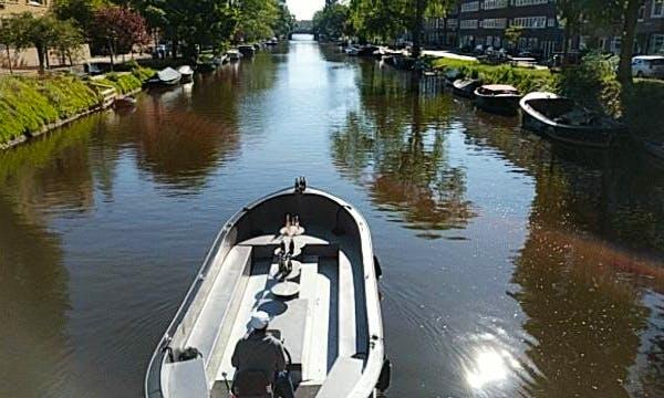 Dinghy rental in Amsterdam