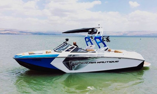Charter A Bowrider In Galilee, Israel