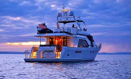 Charter 70' Queen Ship Yacht In Cabo San Lucas, Mexico