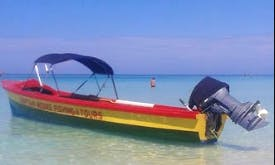 Try a Fishing Charter in Negril, Jamaica on a Dinghy