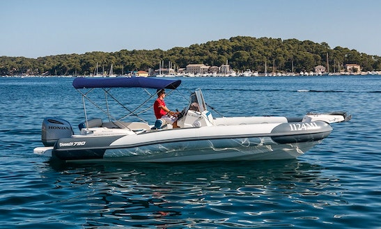 Experience Croatian Islands On Marlin 790 Dynamic Rigid Inflatable Powerboat