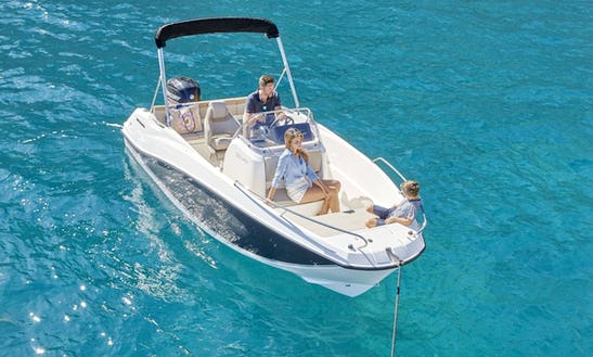 Rent The 2018 Quicksilver Activ 555 Open Powerboat In Trogir, Croatia
