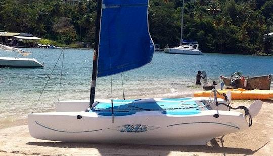 Charter A Beach Catamaran In Castries, Saint Lucia