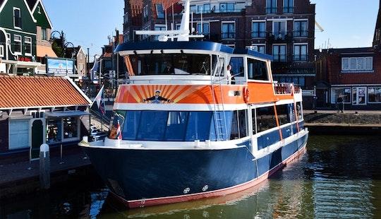 Chrater A 87' Ms. Jan Smit Passenger Boat In Volendam, Noord-holland