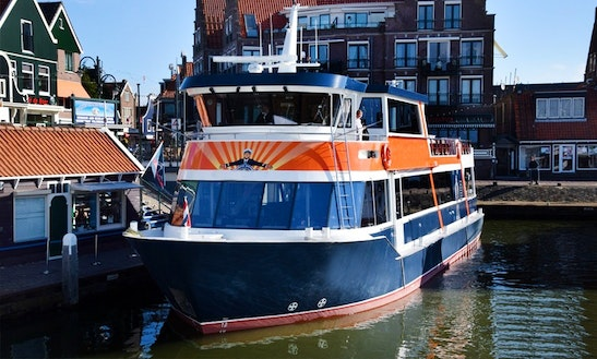 Chrater A 87' Ms. Jan Smit Passenger Boat In Volendam, Noord-holland