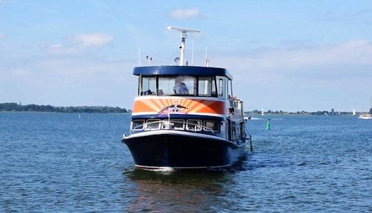Chrater A 78' Passenger Boat In Volendam, Noord-holland