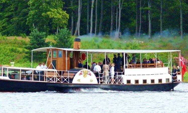 Cruising on a Paddle Steamer in Silkeborg, Denmark