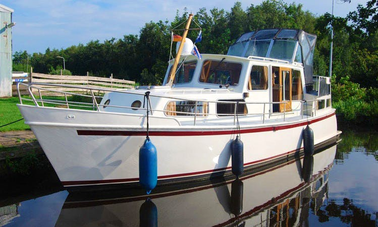 Enjoy Friesland, Netherlands on 36' Motor Yacht