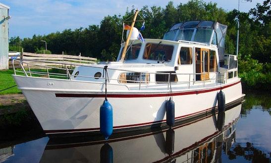 Enjoy Friesland, Netherlands On 36' Motor Yacht