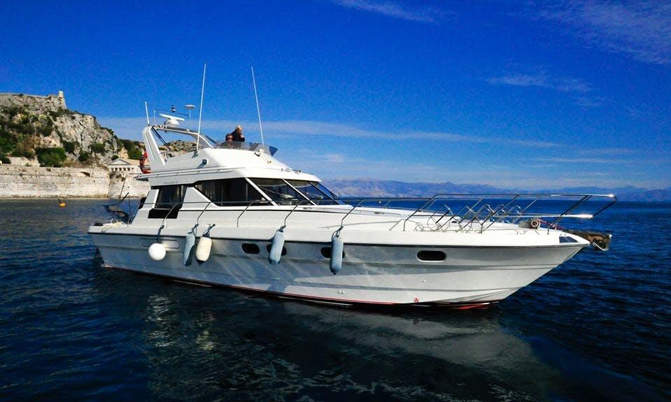 Charter a Motor Yacht in Gouvia, Greece