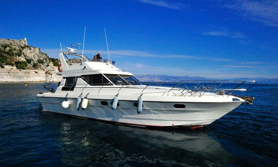Charter A Motor Yacht In Gouvia, Greece