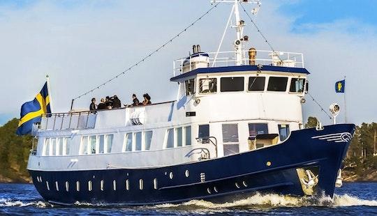 M/s Blue Charm, 120' Passenger Boat Charter In Stockholm, Sweden