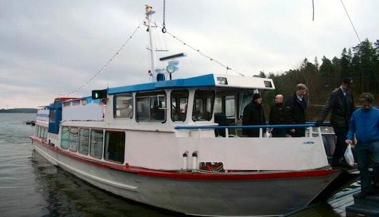 70' Cruising Passenger Boat In Stockholm