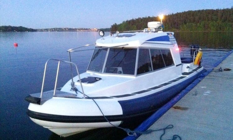 Charter M/S THEBAY Taxi Boat in Stockholm