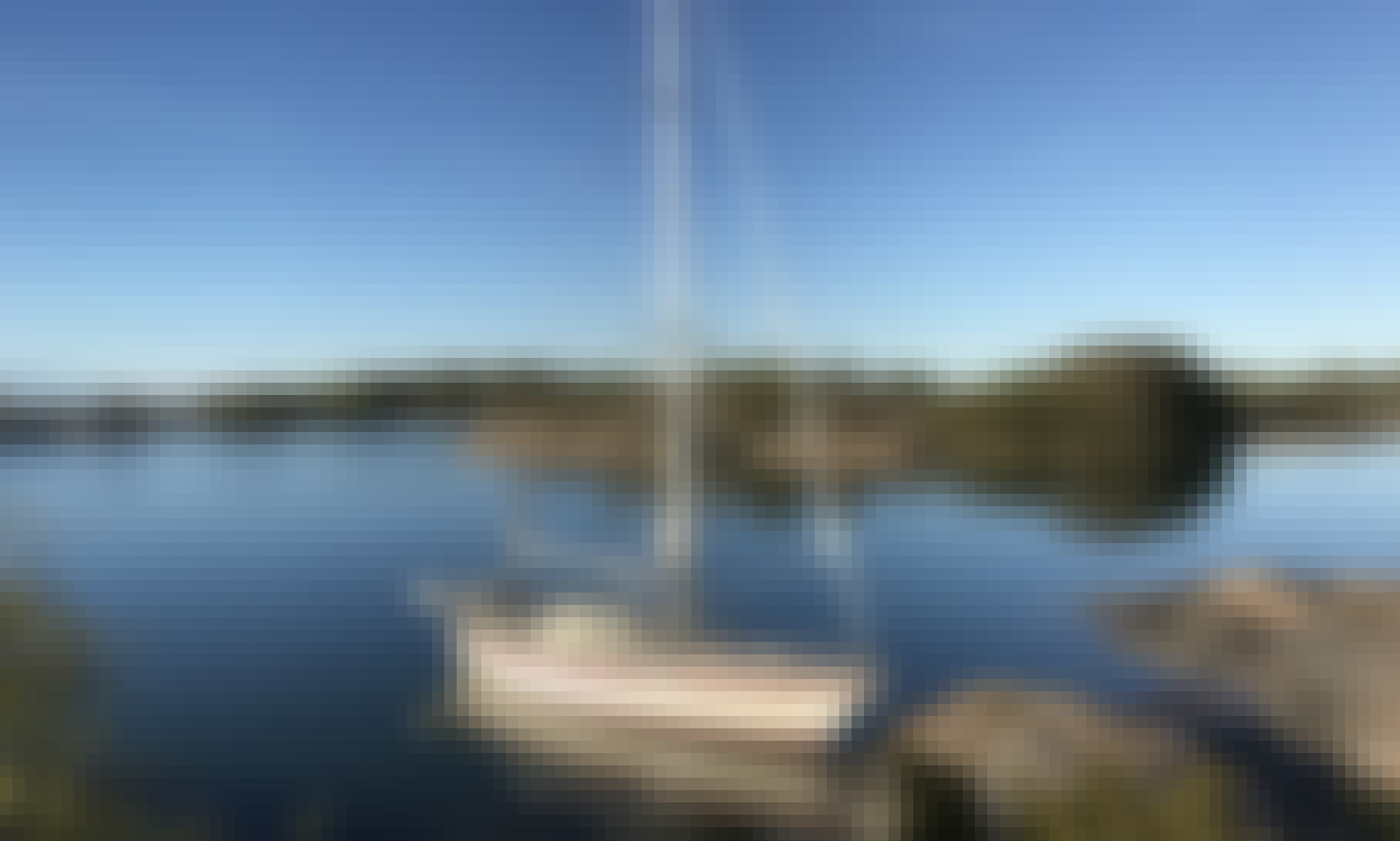 Sailing lessions in Stockholm Archipelago!