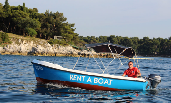 Rent Elan Pasara 4 Dinghy In Poreč, Croatia