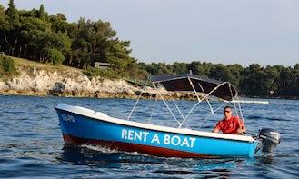 Rent Elan Pasara 4 Dinghy in Poreč, Croatia