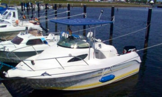Hanne4 40hp Boat Rental In Fehmarn