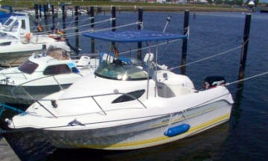 Hanne4 40hp Boat Rental In Fehmarn