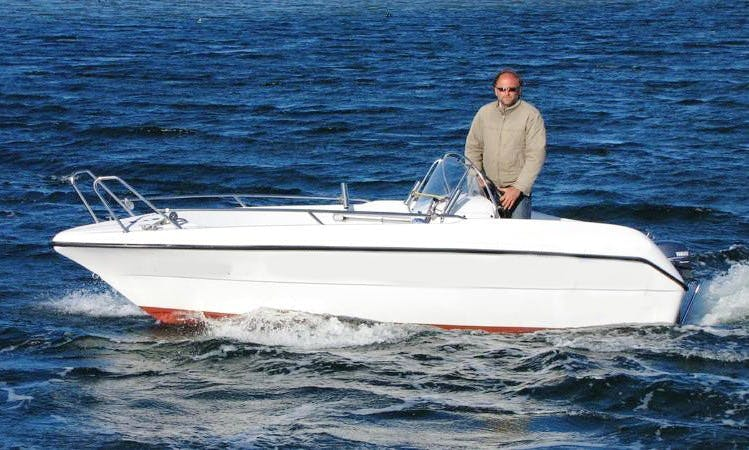"""Rent the Open Boat """"Baltica III"""" in Fehmarn"""