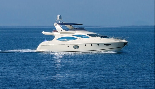 Azimut 68' / 20.73m | 8 Guests, Rental In Athens , Greece