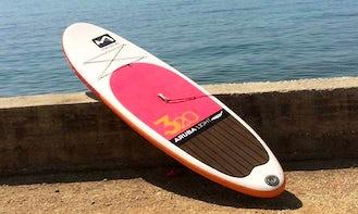 Branded Paddleboards for rent in Sibenik