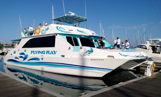 Martinique Day Cruise & Power Catamaran Charters In St. Lucia